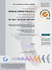 ISO 14001 - Morgan Carbon Italia